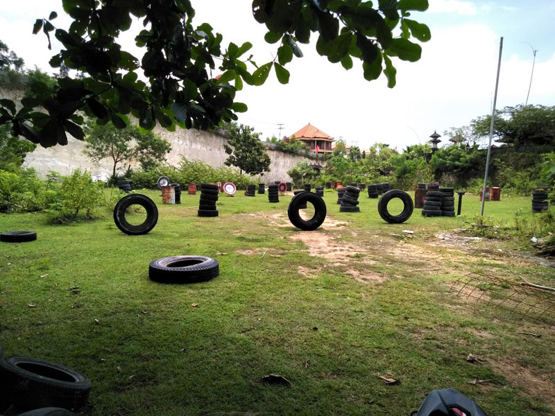 Paintball Bali Jimbaran battlefield