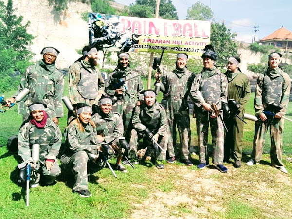 Paintball at Jimbaran Bali