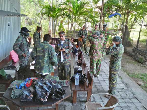 Birthday session Bali Paintball Jimbaran