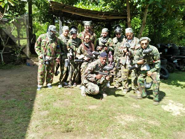 Provate session paintball at Jimbaran Bali