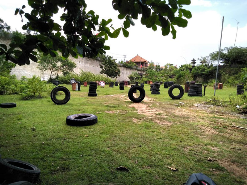 Jimbaran Hill Paintball Bali