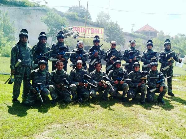 Corporate paintball at Jimbaran Bali