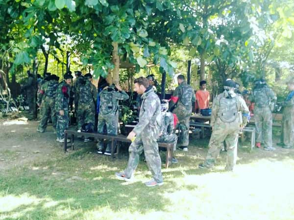 Paintball party at Jimbaran Bali
