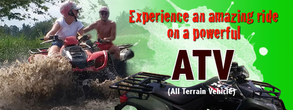 ATV ride with Bali Paintball Arena